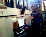On Pipe Organ